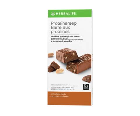 Proteinerepen chocolade-pinda